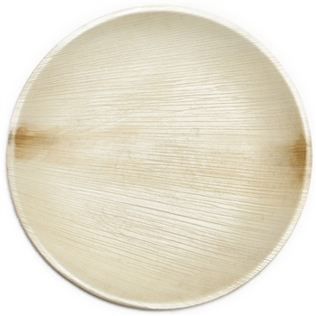 "Leaf & Fiber Ecofriendly Palm Leaf Round 9"" Plate - $23 regular price, on sale for $18 right now! 25 plates"