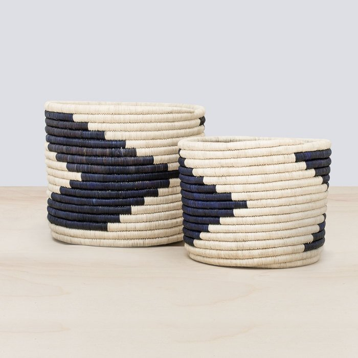 Amani Baskets  - Set of 2 - $195 - Takes weeks to make, and they're beeeeeeautiful, so they're totally worth the price.