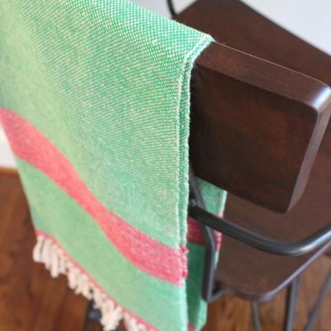 Lizabeth Hand Towel  - $35 - Handwoven in Nicaragua of 100% eco-dyed cotton - Comes in many different colors, but this is my favorite!