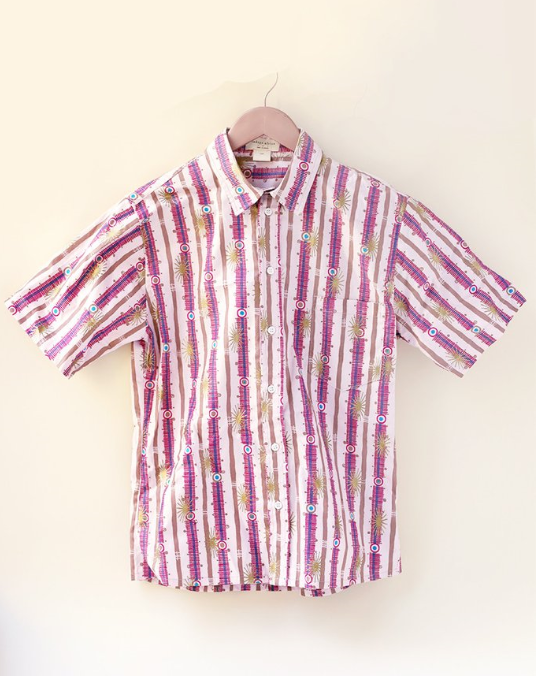 Men's Shirt - Pink  - $55 on sale
