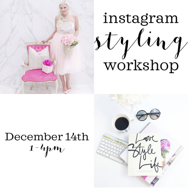 Instagram Styling Workshop