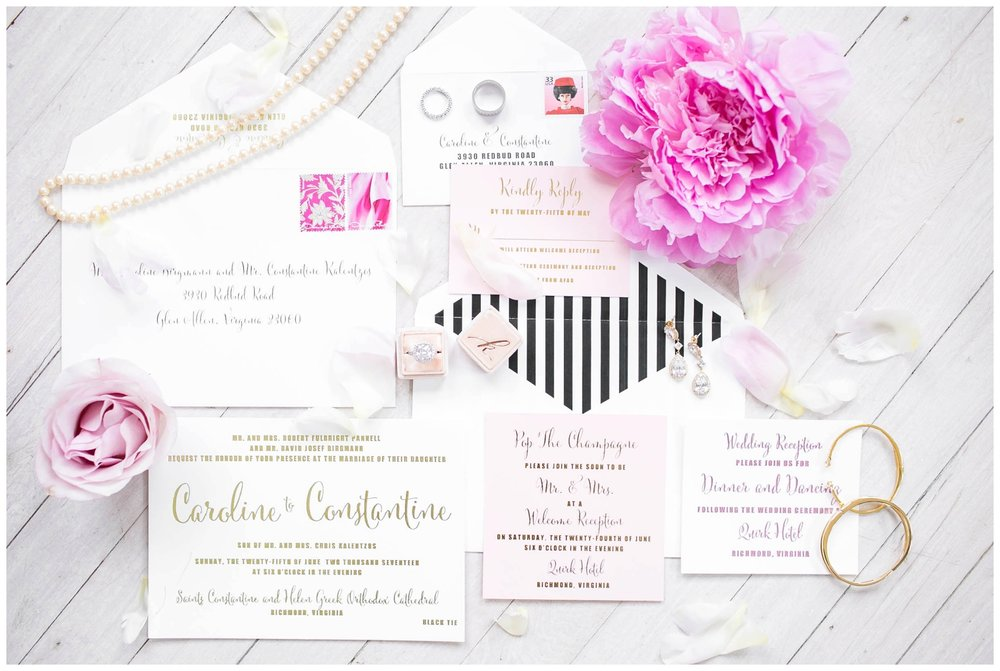 The Caroline Doll Invitation Suite