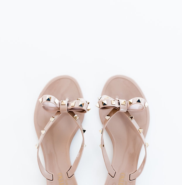 VALENTINO - I have had these in black and now I have them in PINK! These are my go-to in the summer. The best part? When I am wearing my Valentino heels (or any heels), these flip flops fit perfectly into my bag to give my feet a break! Always, always be prepared, dolls!