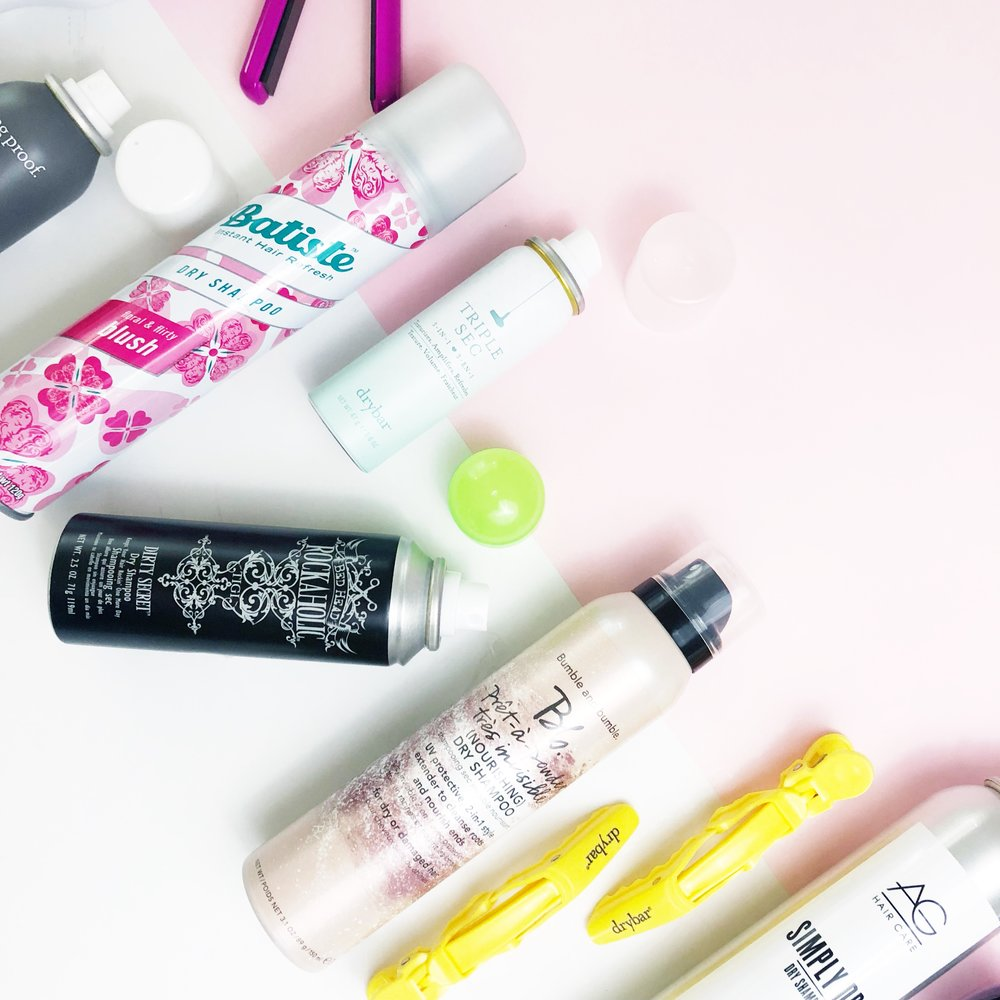 Bumble & Bumble - This dry shampoo isn't a powder. It's invisible and a little fragrant. What I do love about this one is that it is usually best for damaged hair. It cleans and nourishes, just like a shampoo and conditioner in one!