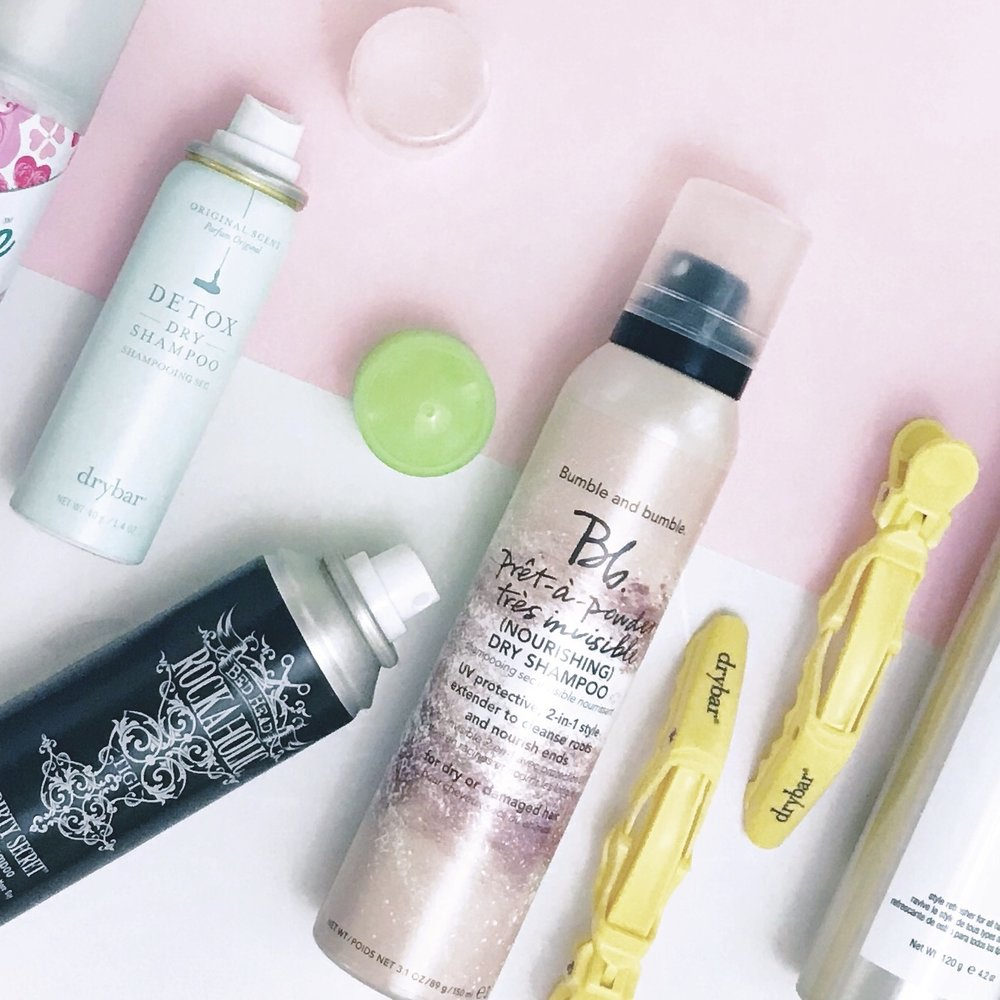 Drybar - The Detox Dry Shampoo by Drybar is beyond white powder. #obsessed. Again, red heads and brunettes might not LOVE this. But for my fellow platinum dolls? #yesplease. Again, I love the powdered texture this adds to my hair!