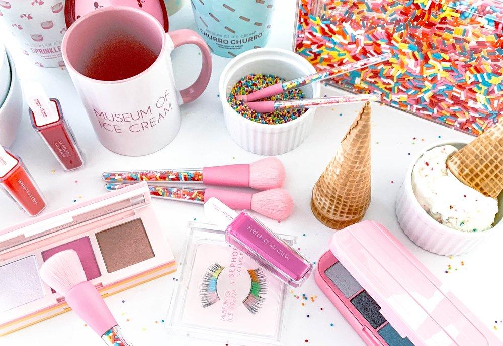 Caroline-Doll-Sephora-beauty-makeup-icecream