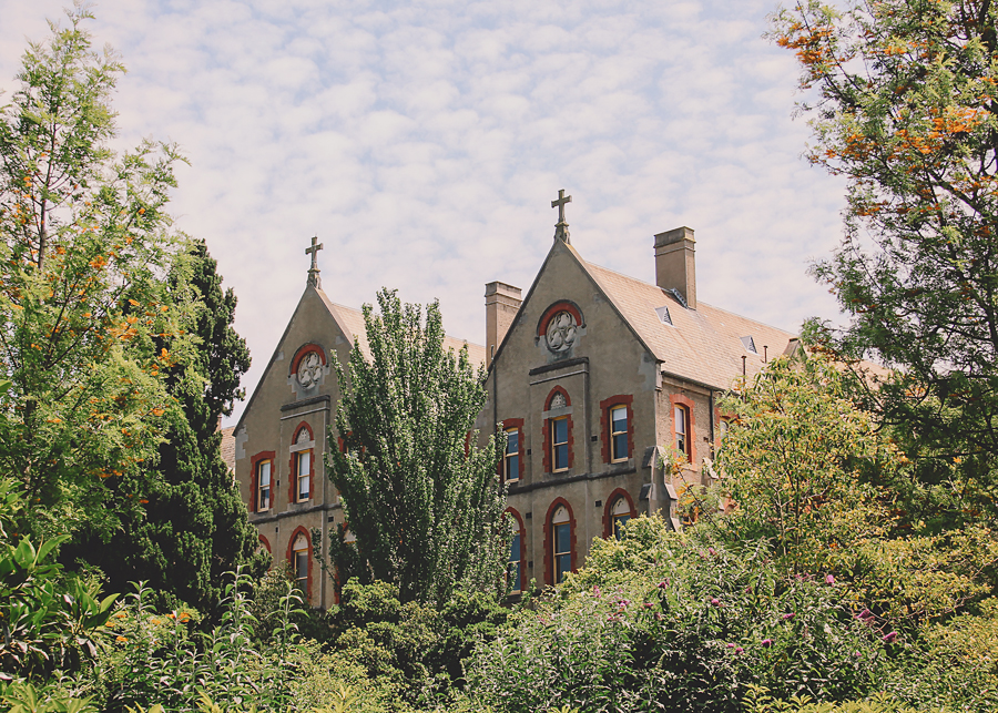 The convent we stumbled upon, and decided this would be the place we would marry.