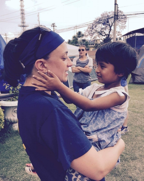 Experiencing God's goodness among the devastation of the 2015 earthquakes..... Manisha has captured our hearts and we cannot wait until we get to be her forever family!