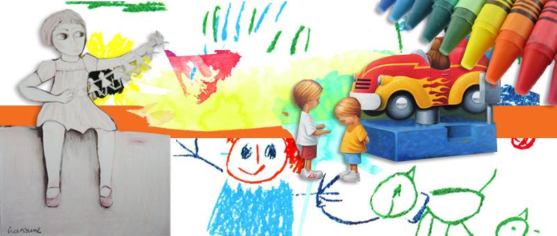 Children and the Wonderful World of Art  [Jane Creenaune & Steve Graham]