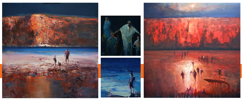 Mel Brigg - Exhibition April 2012 at Red Hill Gallery