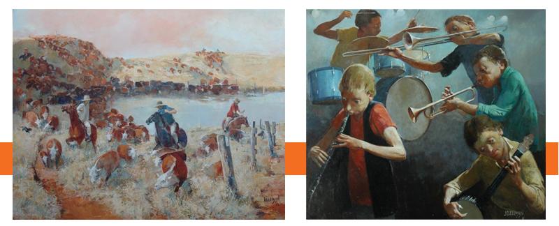 John Beeman - Exhibiting at Red Hill Gallery - May 2012