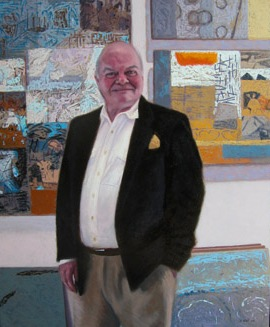 Portrait of Gallery Director Graham Campbell-Ryder