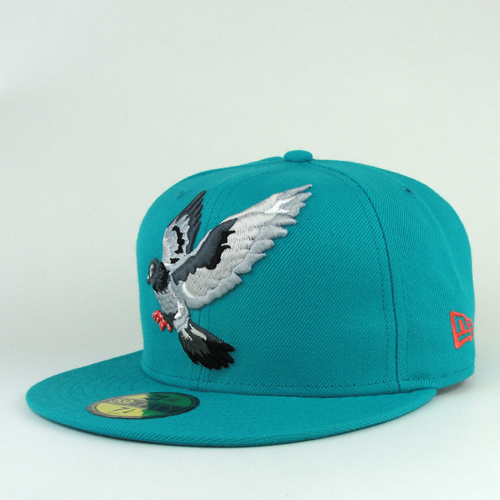 Staple-Flying-Pigeon-Turquoise-New-Era-Hat-Fitted- ad75c00f614