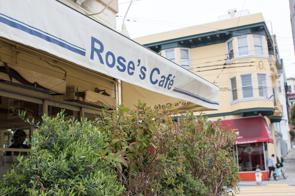 Roses Cafe San Francisco