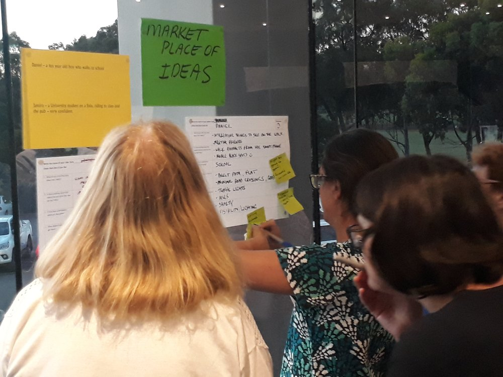 Gathered a rich data set of ideas and local insights from people about cycling and walking, urban design and environment and community to shape Victoria's largest transport project. Leading a team of co-facilitators, delivered a program of community workshops for 140 community members to extremely positive feedback.  Community Engagement Report  |  North East Link Authority