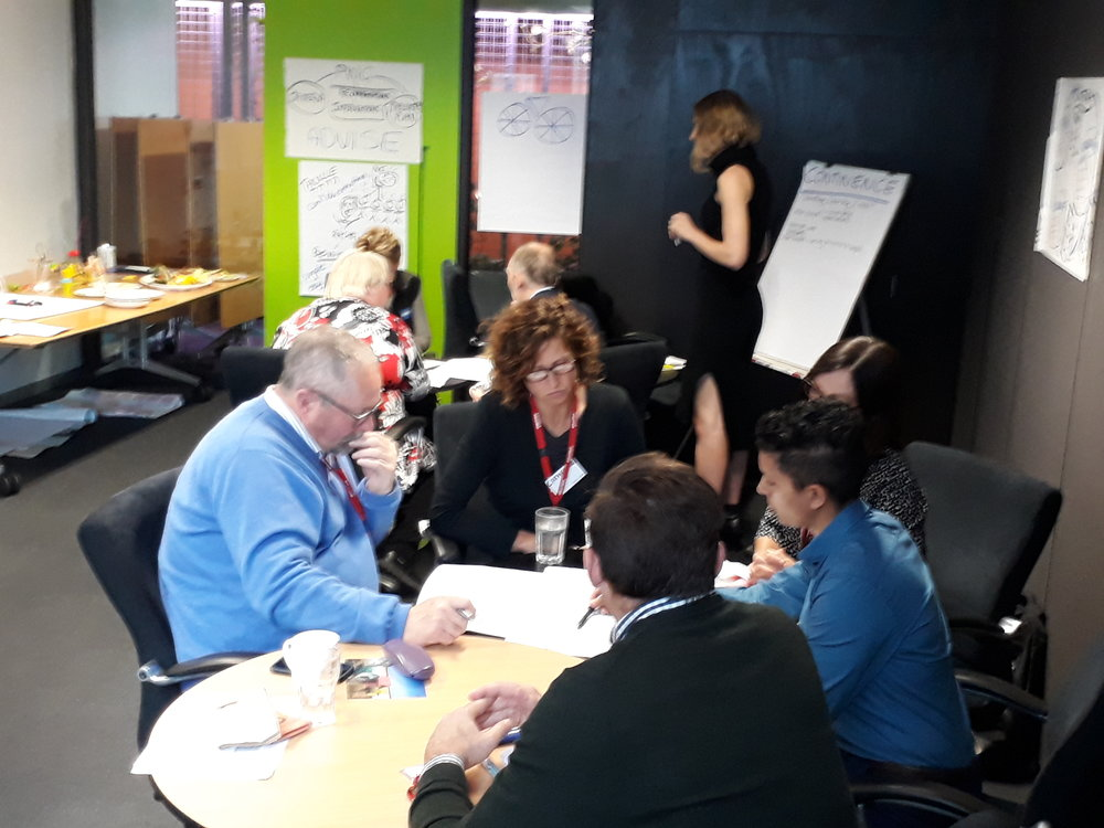 Created a safe space for respectful conversations with partners to reach consensus on research on behavioural change programs to reduce waste in the healthcare sector. Over three months, coached, mentored and facilitated to re-energise the government/industry partnership.  Sustainability Victoria