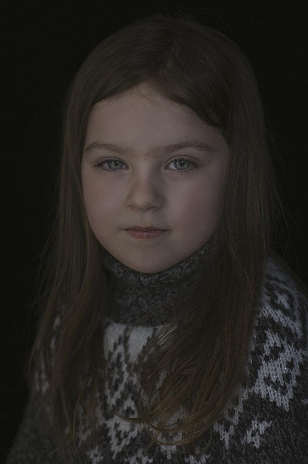 Heirloom Childrens Portrait