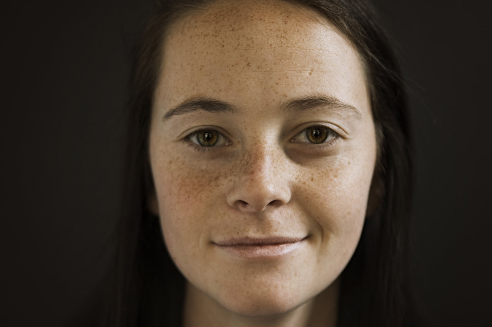 Portrait of a young woman with freckles | Jackie Daily Photography | Heirloom photographer | Monroe, Louisiana