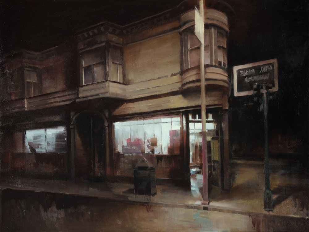 "Night Cap 36"" X 48"" oil on canvas"