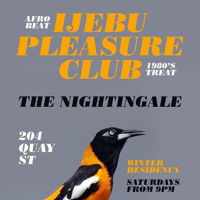Get your dancing shoes on. The finest 80s tunes wrapped in afrobeat goodness. 9pm tonight Free entry at @thenightingalenz #80s #music #gig #party #dance #fellakuti #afrobeat #nigeria #Auckland #nightingale