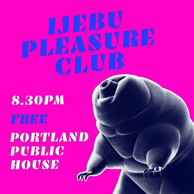 Tonight!!!! Free! from 8.30pm at @theportlandpublichouse . Your last chance to get sweaty with Ijebu Pleasure Club in 2017! And what could be better than free? Free afrobeat-pop covers, thats what!  Come and get your dancing on!  #afrobeat #party #music #gig #felakuti #80s #dance #groove #band #nigera #auckland #newzealand #kingsland