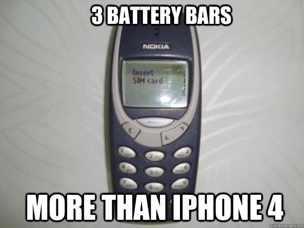 Walaupun 3310 punya bateri tahan 18 hari