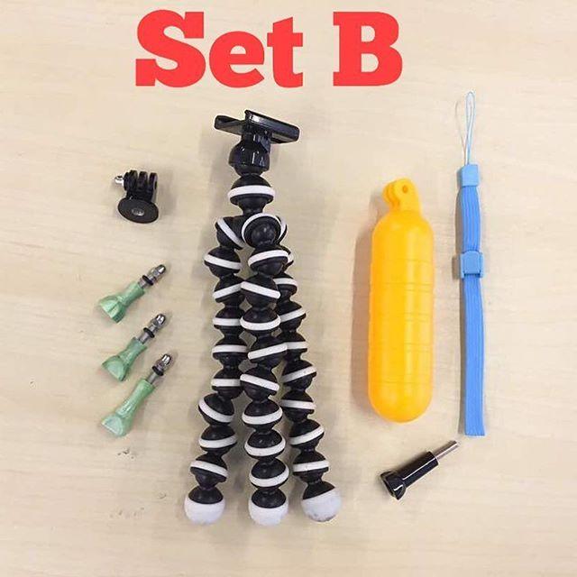 Smuggld Accessories Set B .... ✅Octopus tripod (rm 35) ✅Floating bobber (rm 20) ✅3 pcs Thumbscrew set (rm 29) .... Total price = rm 84 SPECIAL PRICE = rm 50 .. #kedaigopro #kedaigopromurah #smuggld #angryberuk #gopro #goprohero5 #aksesorigopro