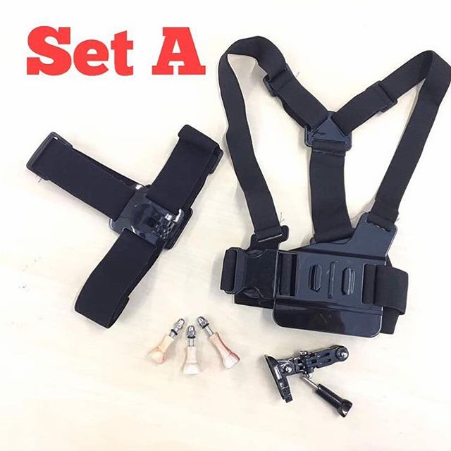 Smuggld Accessories Set A .... ✅Head strap (rm 35) ✅Chest strap (rm 25) ✅3 pcs Thumbscrew set (rm 29) .... Total price = rm 89 SPECIAL PRICE = rm 50 .. #kedaigopro #kedaigopromurah #smuggld #angryberuk #gopro #goprohero5 #aksesorigopro