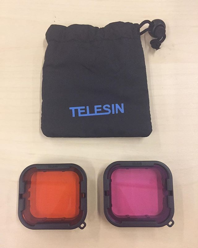 Telesin Aqua Filter Set for GoPro Hero5/6 (original supersuit)  Rm 49 - this is for supersuit where you have to REMOVE lens cover
