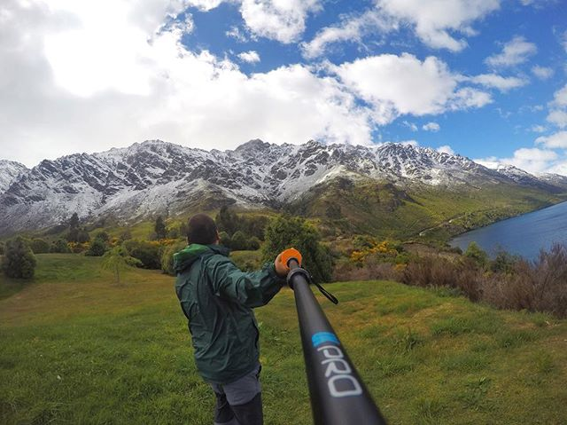 *************************************** 📌The Remarkables, Queenstown NZ 📸GoPro Hero4 Silver ⛏@ukprogear 38HD monopod 🙋♂️@muzzeinmalek *************************************************** Get your UKPro 38HD pole at @smuggld_ and @angryberuk now 👍👍 **************************************************** #smuggld #angryberuk #ukprogear #ukpromy #gopro #gopromy #gpmmalaysia #gpmmalaysia_official