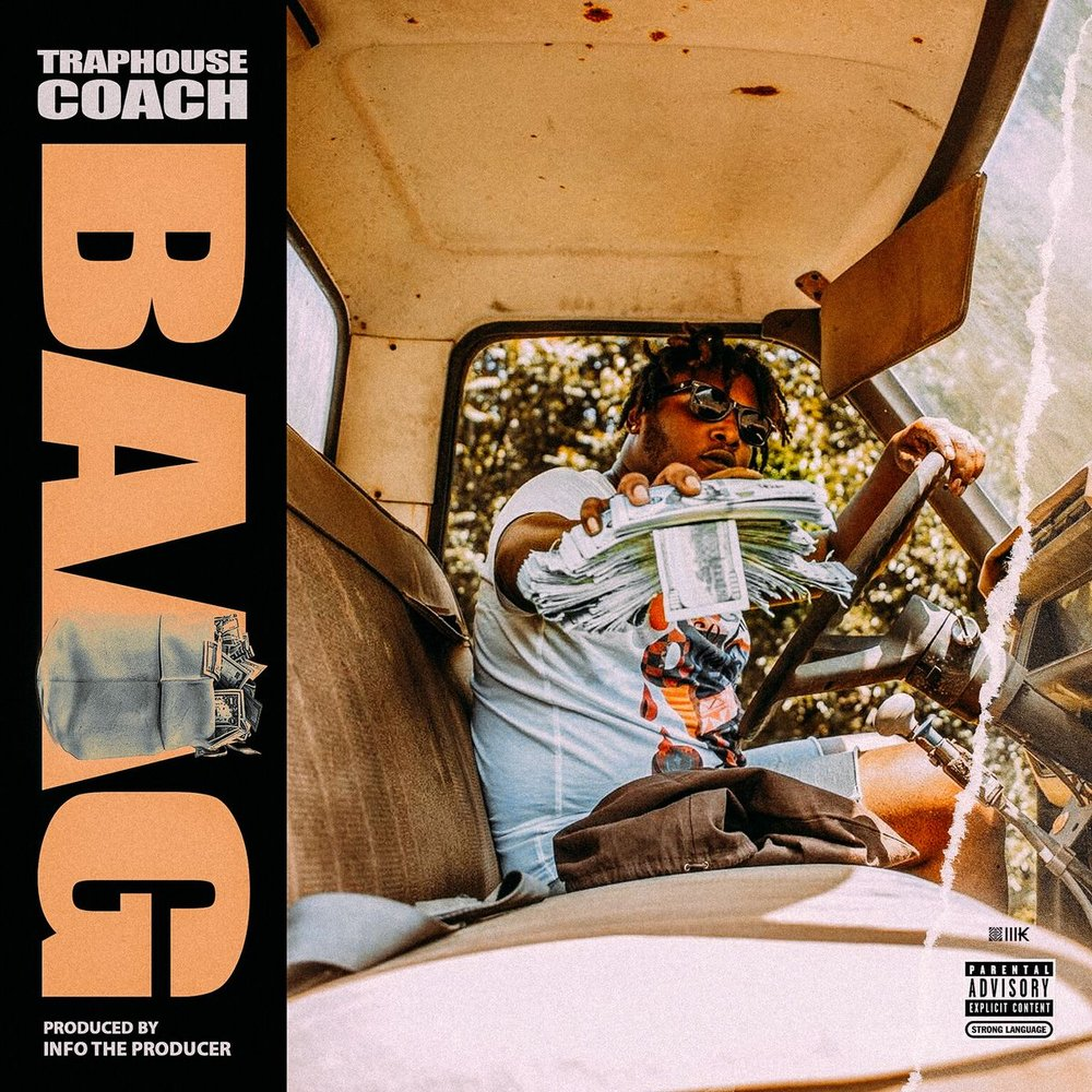 "It's all about the bag and for Traphouse Coach he's focused on nothing but the bag. His new single ""Baag"" is now out on all streaming platforms. The record is produced by InfoTheProducer. Make sure you catch this motivational trap anthem before you get your day started. Trap has a voice tone like no other and his delivery is like no other. Check out the record below."