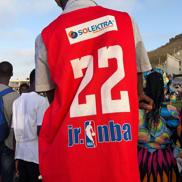 Short but fulfilling! We had a blast at the @jrnba Senegal finals!