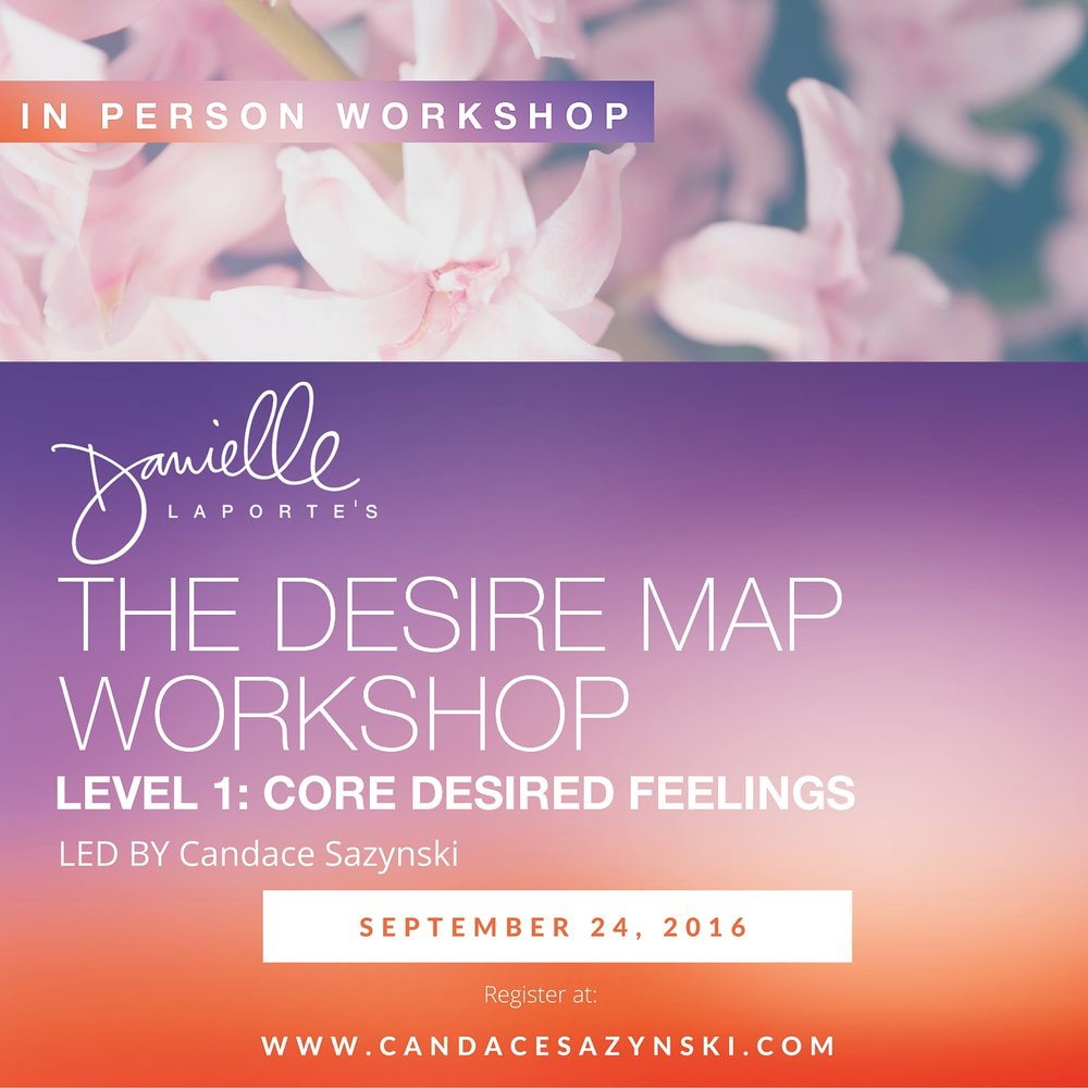 Desire Map Session