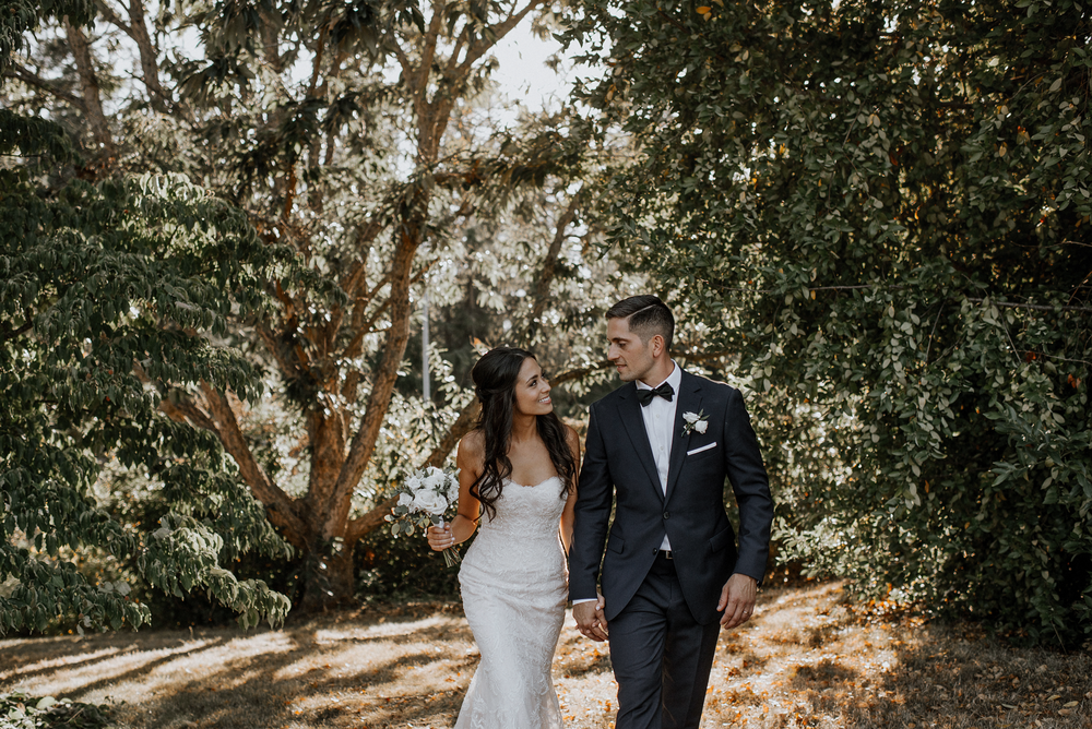 Ubc botanical garden wedding in Vancouver BC