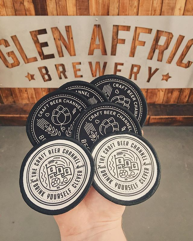 ‪We're proud Patreon supports of @craftbeerchannel and we have the patches to prove it!‬ ‪Now to decide what to stitch them to... suggestions?‬ #Wirral #Liverpool #CraftBeer #CraftBrewery #UKCraftBeer #UKCraftBrewery #CraftNotCrap #CraftBeerUK #CraftBreweryUK #Beer #UKBrewery