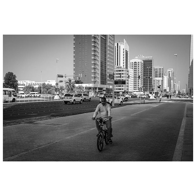 In Abu Dhabi, do not take your bicycle on the road. . #myabudhabi #inabudhabi #fujifilm @fujifilmme #streetphotography #lensculturestreets #street_photography #streetphotographers #streetlife #streets #everybodystreet #photojournalism #peoplescreatives #lensculture #streetlife_award #streetdreamsmag #documentaryphotography #streetphotographer #documentaryphotographer #beststreets #reportagespotlight #everydayeverywhere #streetactivityteam #streetdreamsmag #fotograferjomblo #streetactivity #urbanandstreet #imaginatones #streettogether #bestofstreet