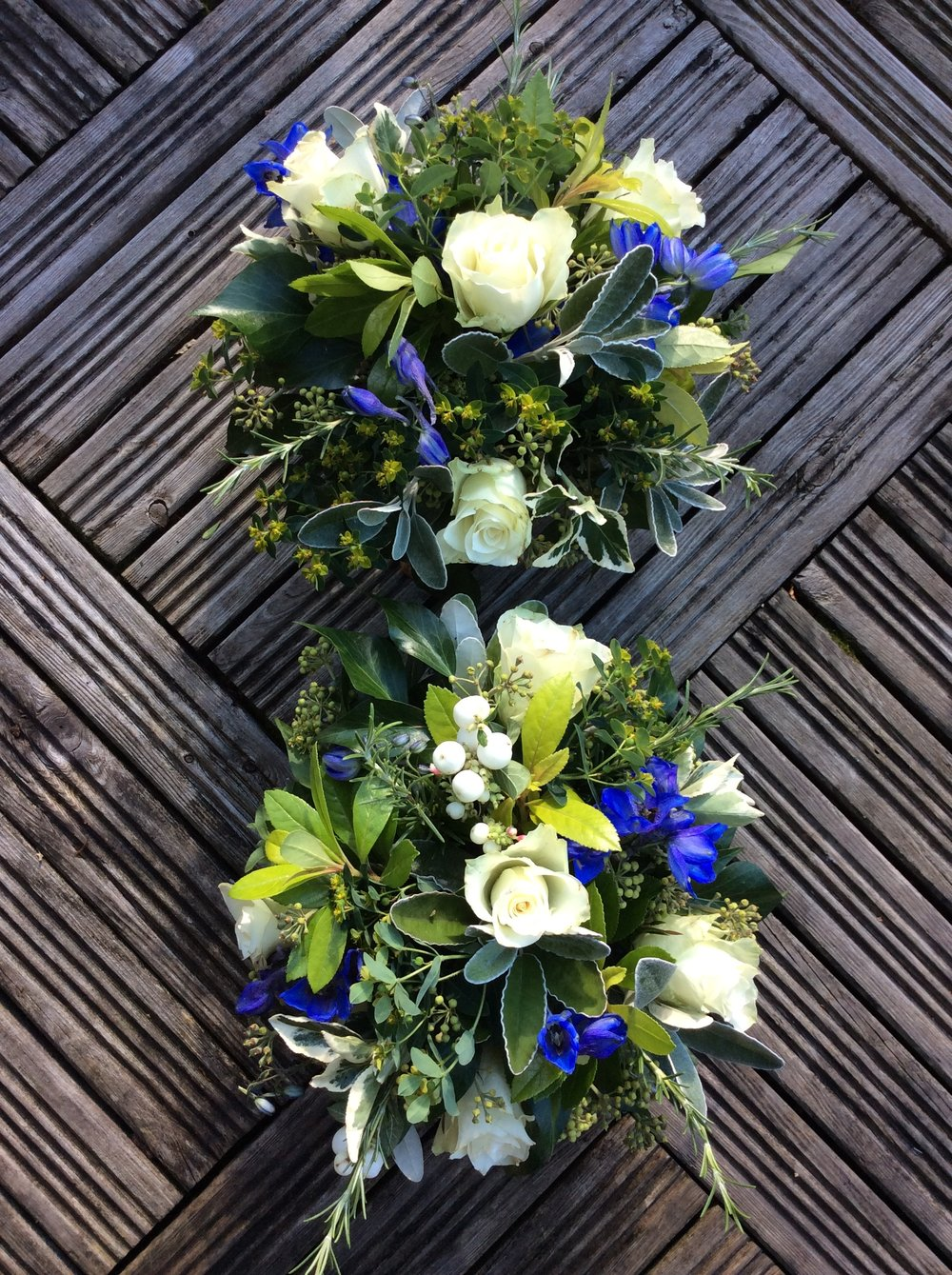 Funeral Flowers For A Friends Father Potting Shed Posies