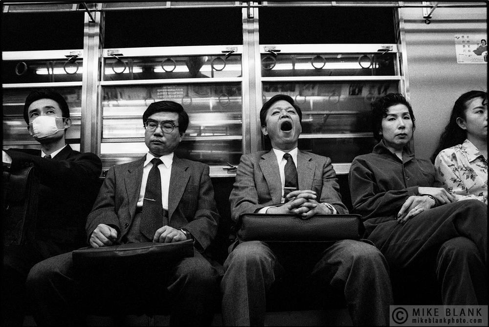 Commuters, Tokyo Subway, 1991