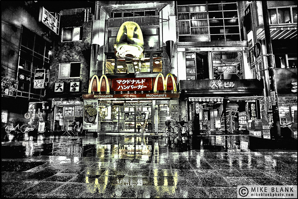 Mc Donald's, Osaka, Japan, 1991