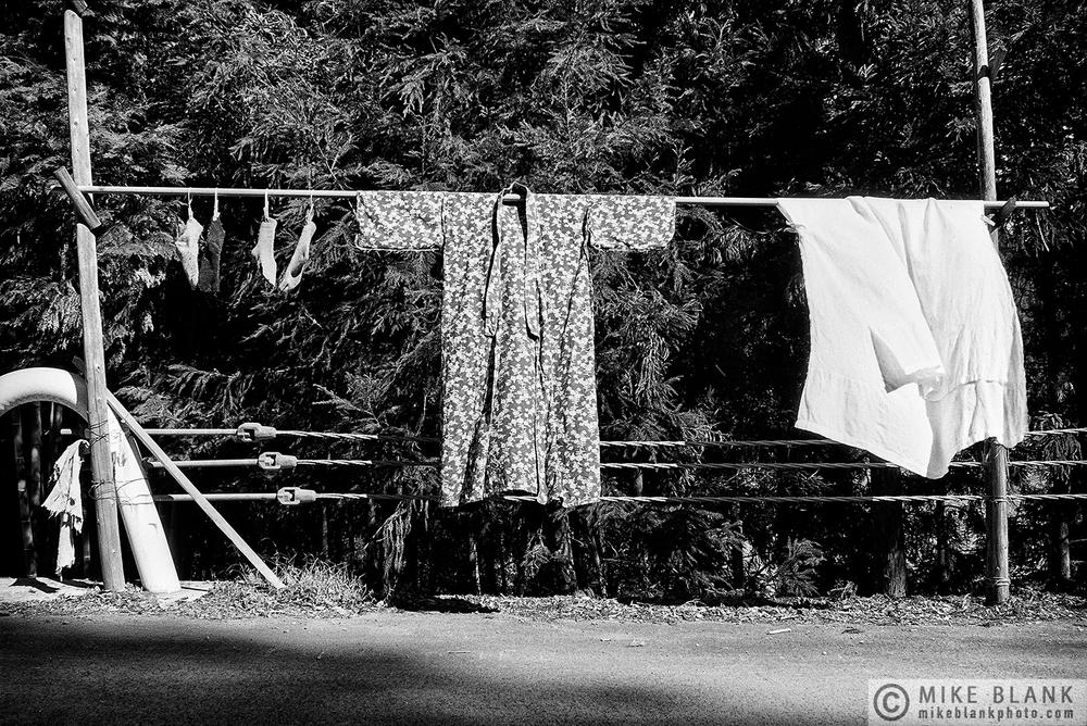 Laundry, Hinohara, Nishimata District, Tokyo, 1991