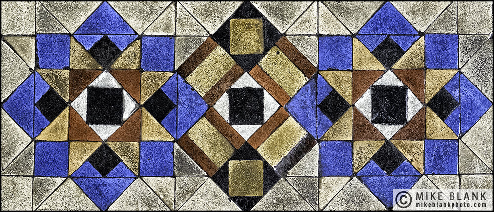 Floor tiles, The Foreign Office, London 2016