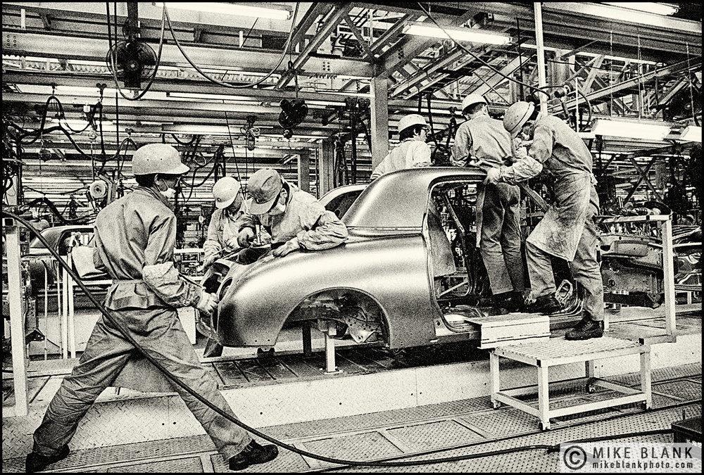 Nissan Figaro car production line, #2 Yokohama 1991