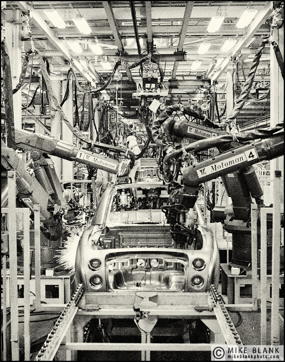 Nissan Figaro car production line, #3 Yokohama 1991