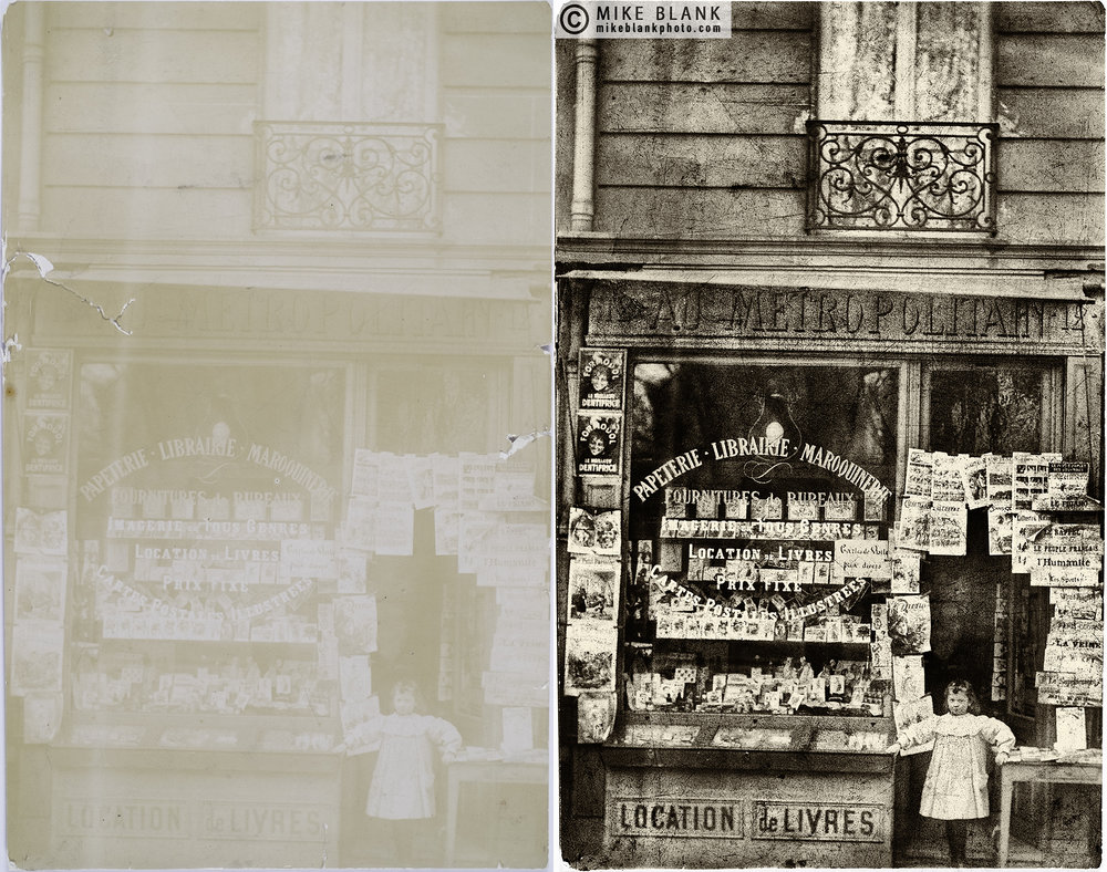 French shop, late 19th - early 20th century