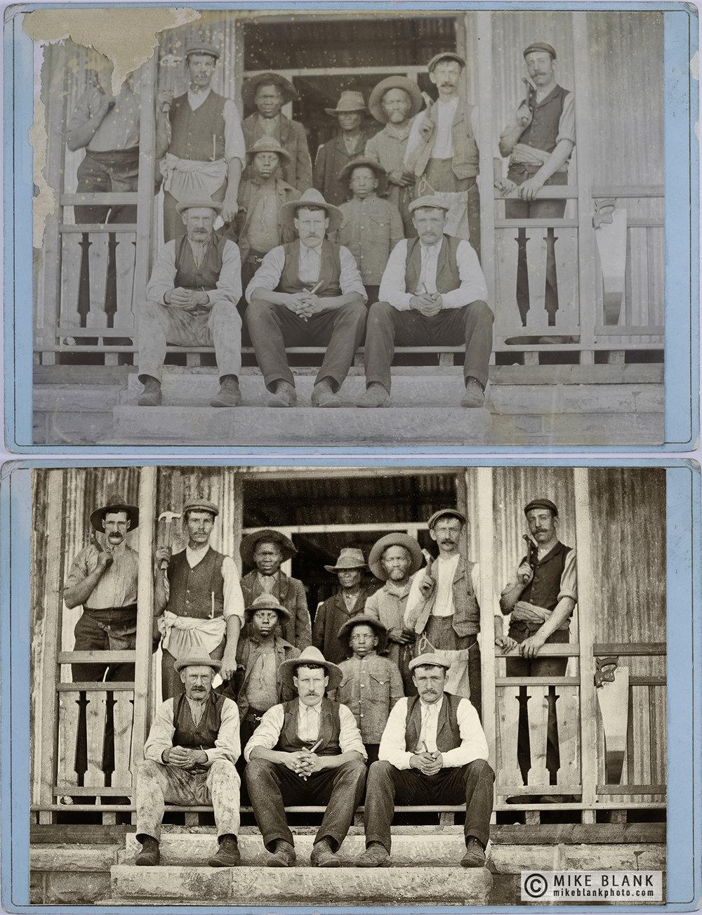 Digital restoration: USA 1880s (?)
