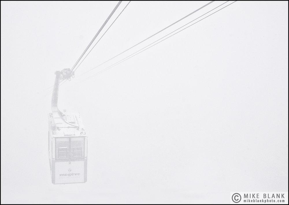 Ski lift, Megeve, 2017