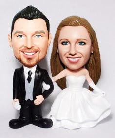 Custom Bride & Groom Booblehead