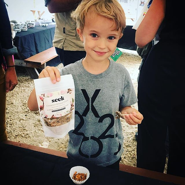 #tbt to this little cutie from the @brooklynbugs street market! Some of our best customers are also our youngest! #futurenow