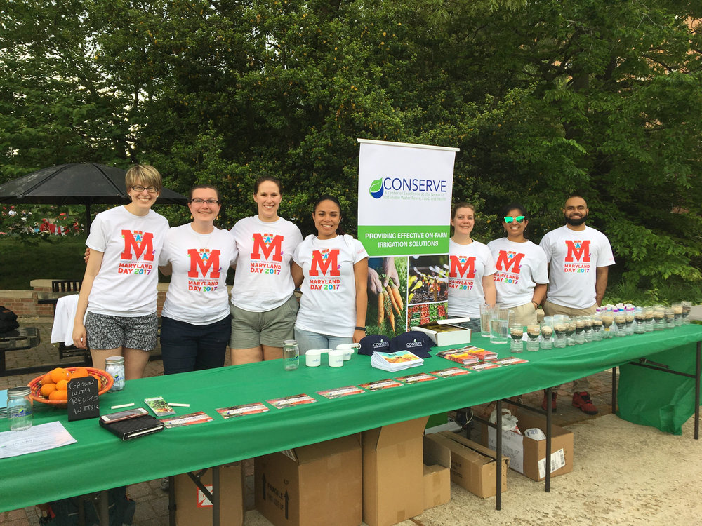 CONSERVE team at Maryland Day 2017