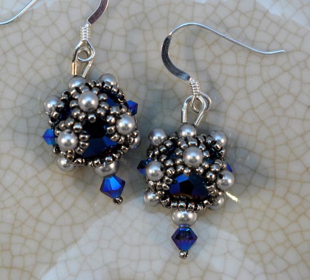 Tudor Earrings Materials Kit — Glassy Jewels LLC